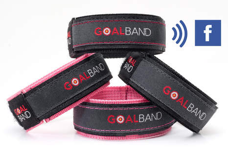 goalband with facebook groups weight loss wristband for diets, slimming, weight loss