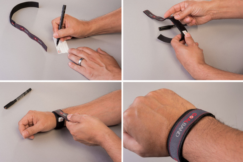 Store your goal in your wristband. Goalband is the gentle goal achievement strategy